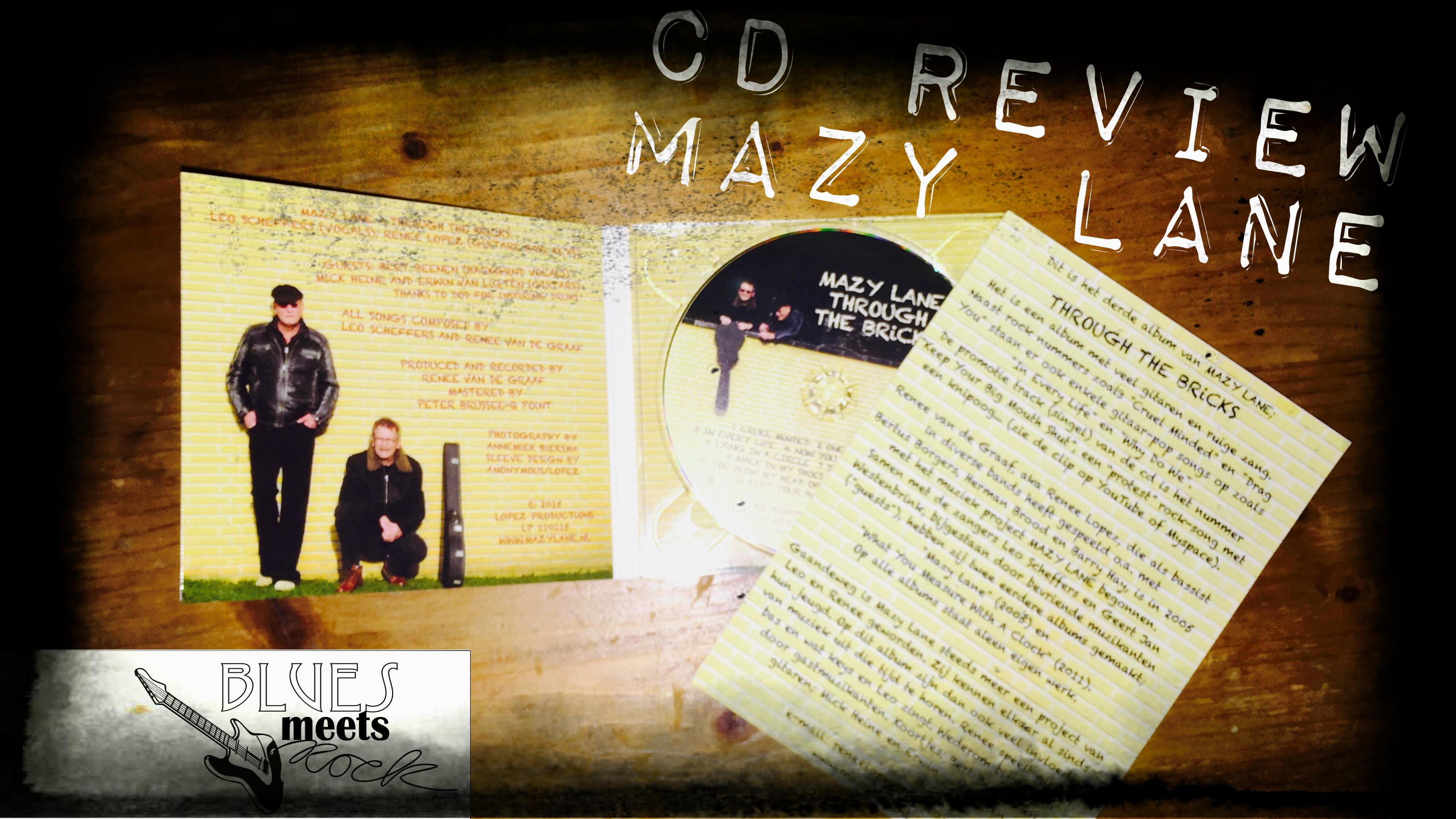 Avis Sur Le Site Home24 blues meets rock » cd review | mazy lane – through the bricks